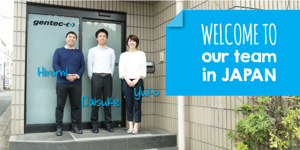 Meet our staff at the Japan office