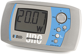 Laser Energy Meters : Uno monitors and other products gentec eo