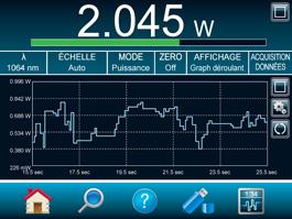 Graph deroulant en mode double ecran