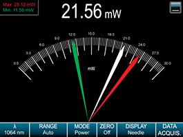 Needle Display in Full Screen