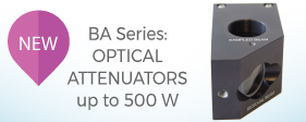 New product: Optical attenuators