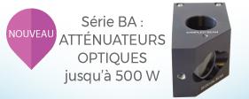 Nouveaux produits: atténuateurs optiques