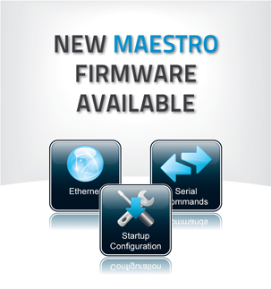 New Firmware Update for the MAESTRO