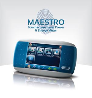 New Gentec-EO Maestro: Touchscreen Laser Power and Energy Meter